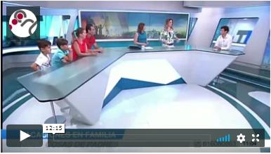"""""""Madrid Contigo"""". Telemadrid. 1/8/2017. SOBREVIVIR A LAS VACACIONES FAMILIARES."""