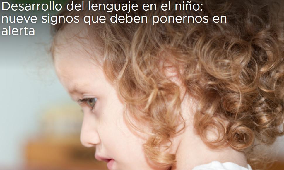 Los niños y el desarrollo del lenguaje