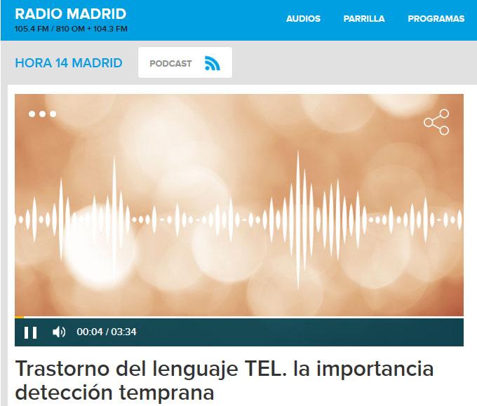 30 de Septiembre. Día Internacional de la Concienciación sobre el Trastorno Específico del Lenguaje (TEL). CRL en la SER.